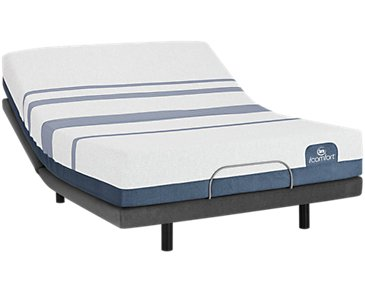 Serta iComfort Blue 500 Plush Elite Adjustable Mattress Set