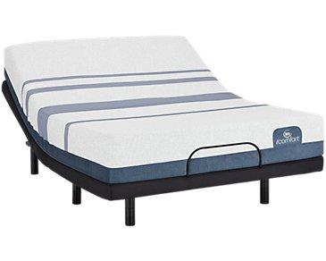 Serta iComfort Blue 500 Plush Elevate Adjustable Mattress Set