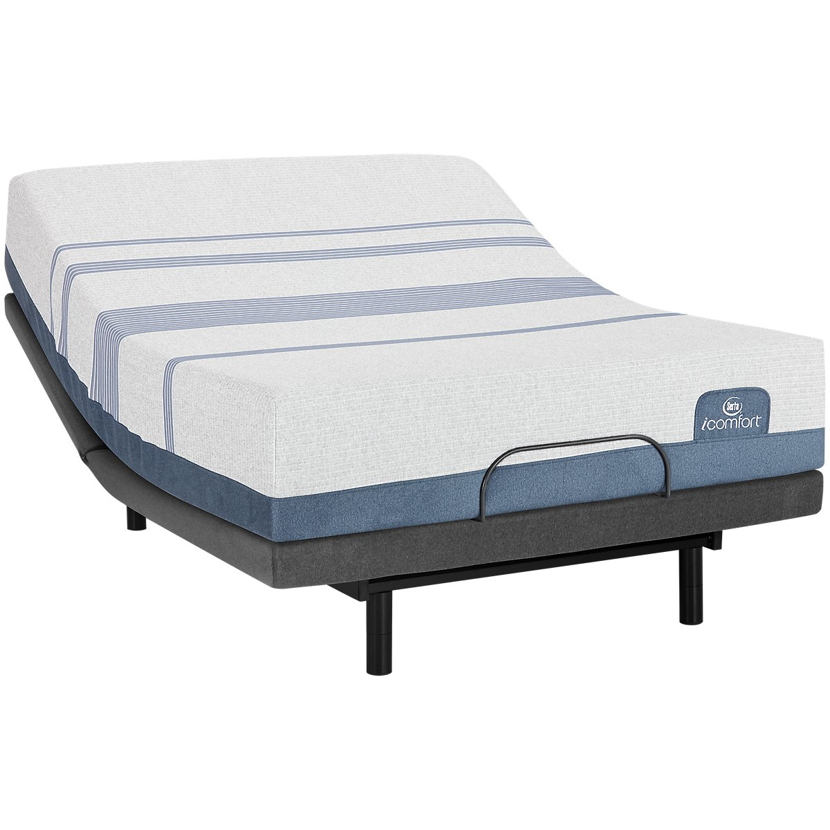 Serta iComfort Blue Max 1000 Plush Select Adjustable Mattress Set