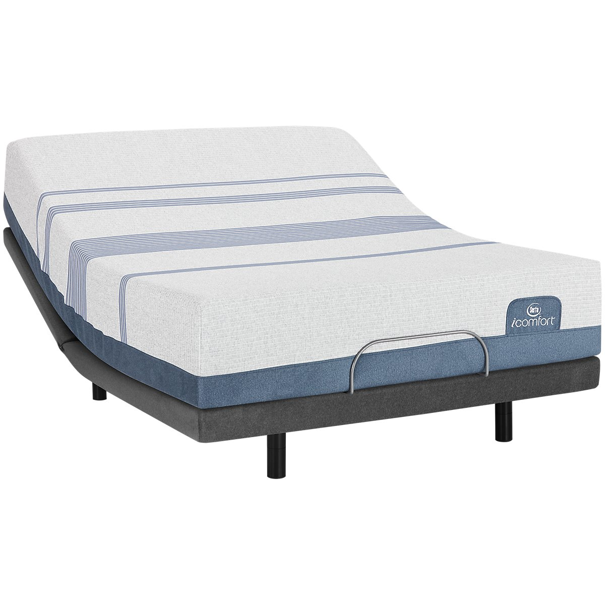 Serta iComfort Blue Max 1000 Plush Elite Adjustable Mattress Set