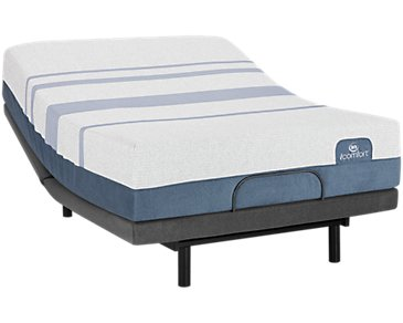 Serta iComfort Blue Max 3000 Plush Deluxe Adjustable Mattress Set