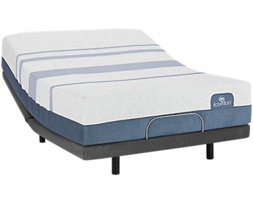 Serta iComfort Blue Max 3000 Plush Elite Adjustable Mattress Set