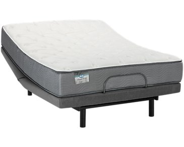 Beautysleep Impala Plush Deluxe Adjustable Mattress Set