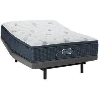 Beautyrest Silver Palm Springs Plush Select Adjustable Mattress Set