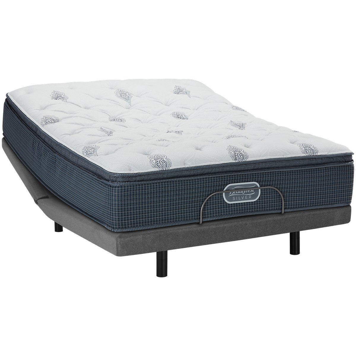 Beautyrest Silver Palm Springs Plush Pillow Top Mattress