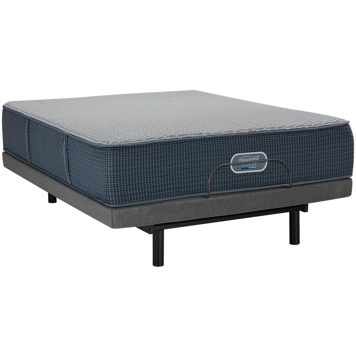 City Furniture Ventura Plush Hybrid Select Adjustable Mattress Set