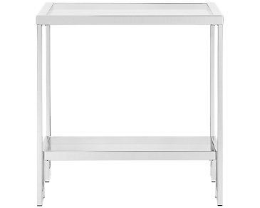 Allure Glass End Table