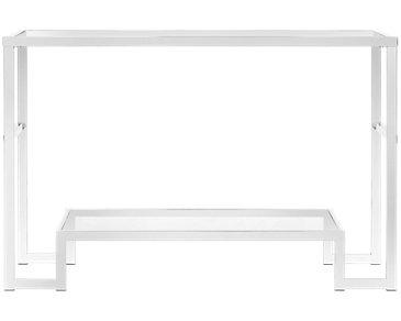 Allure Glass Sofa Table
