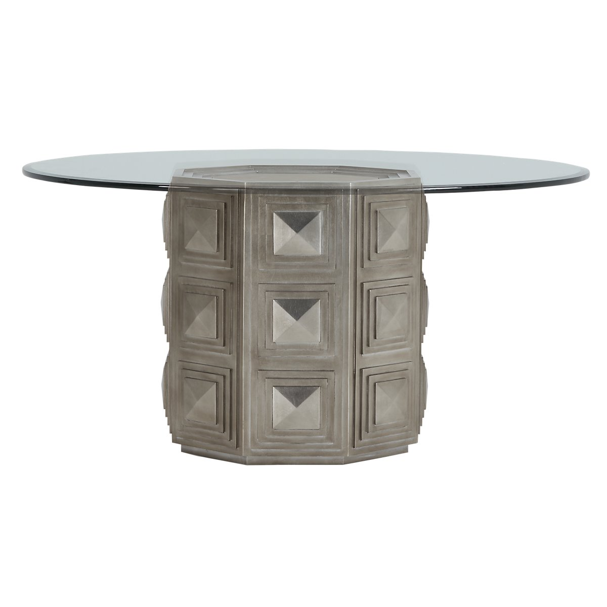 Mosaic Glass Round Table