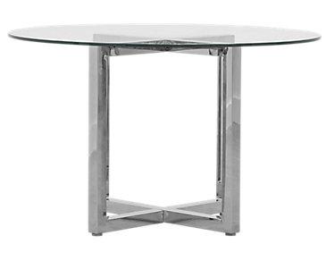 Amalfi Glass Round Table