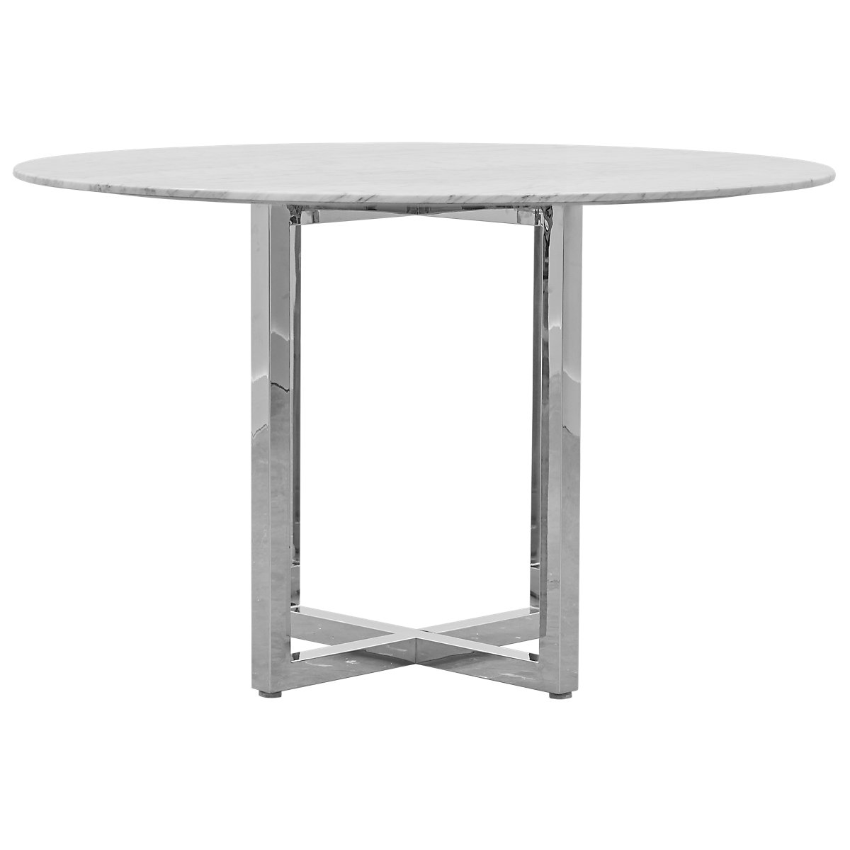 Amalfi Marble Round High Dining Table