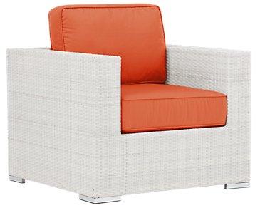 Biscayne Orange Chair