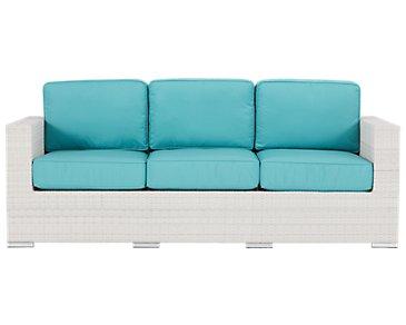 Biscayne Dark Teal Sofa