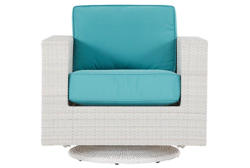 Pleasing Biscayne Dark Teal Swivel Chair Outdoor Chairs City Unemploymentrelief Wooden Chair Designs For Living Room Unemploymentrelieforg