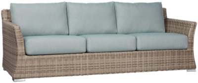 Raleigh Teal Woven Sofa. VIEW LARGER