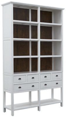 Manaslu White China Cabinet. VIEW LARGER