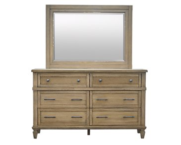 Tahiti Light Tone Dresser & Mirror