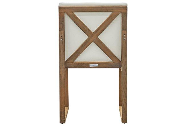 Linear Teak Side Chair