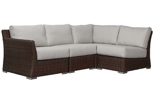 Magnificent Canyon Gray Sofa Outdoor Sectional Components City Ibusinesslaw Wood Chair Design Ideas Ibusinesslaworg