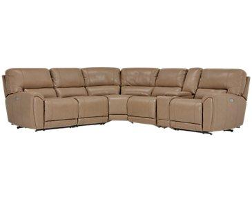 City Furniture Bailey Dark Brown Microfiber Small Triple