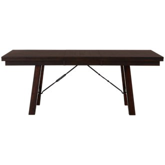 Jax Dark Tone Rectangular Table