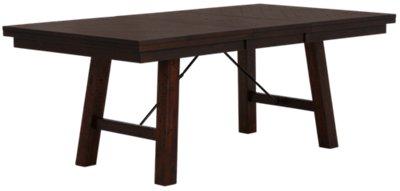 Jax Dark Tone Rectangular Table VIEW LARGER