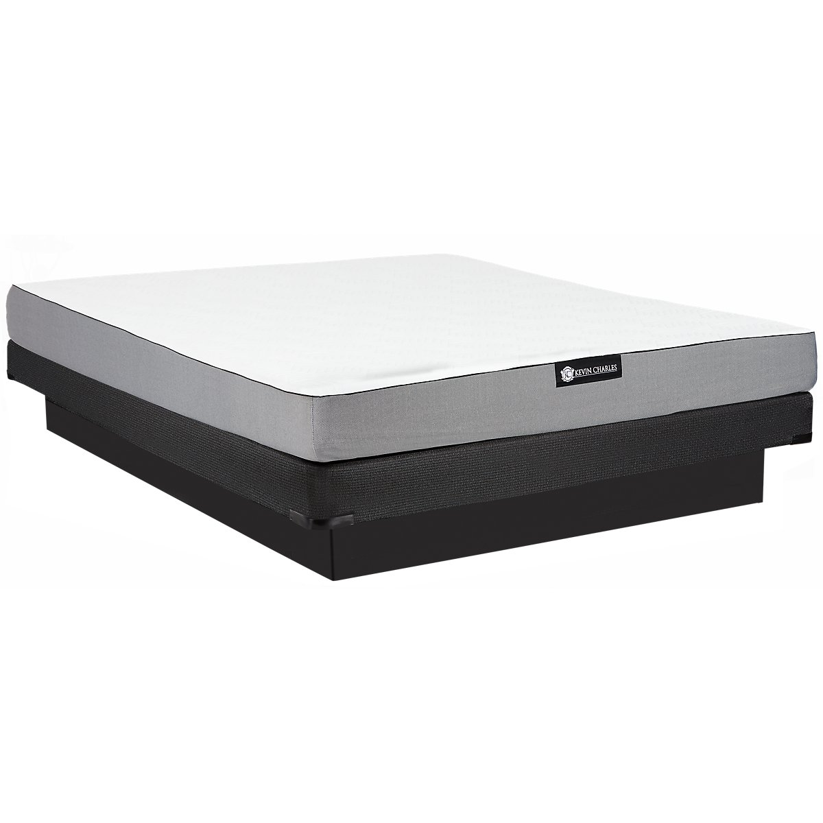 City furniture slumber firm memory foam low profile mattress set Memory foam mattress set