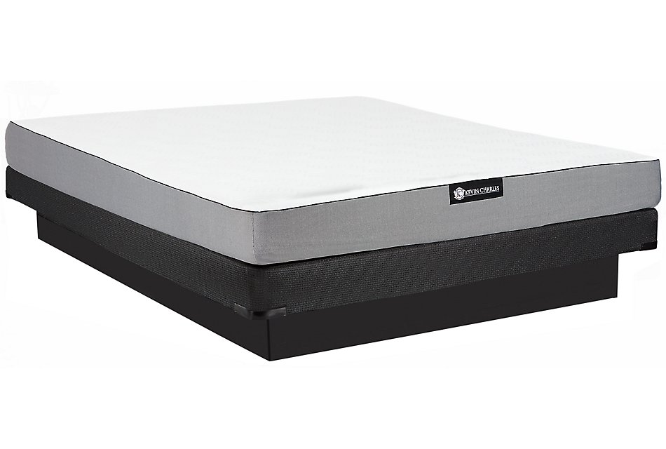 Kevin Charles Slumber FIRM MEMORYFOAM Low-Profile Mattress Set