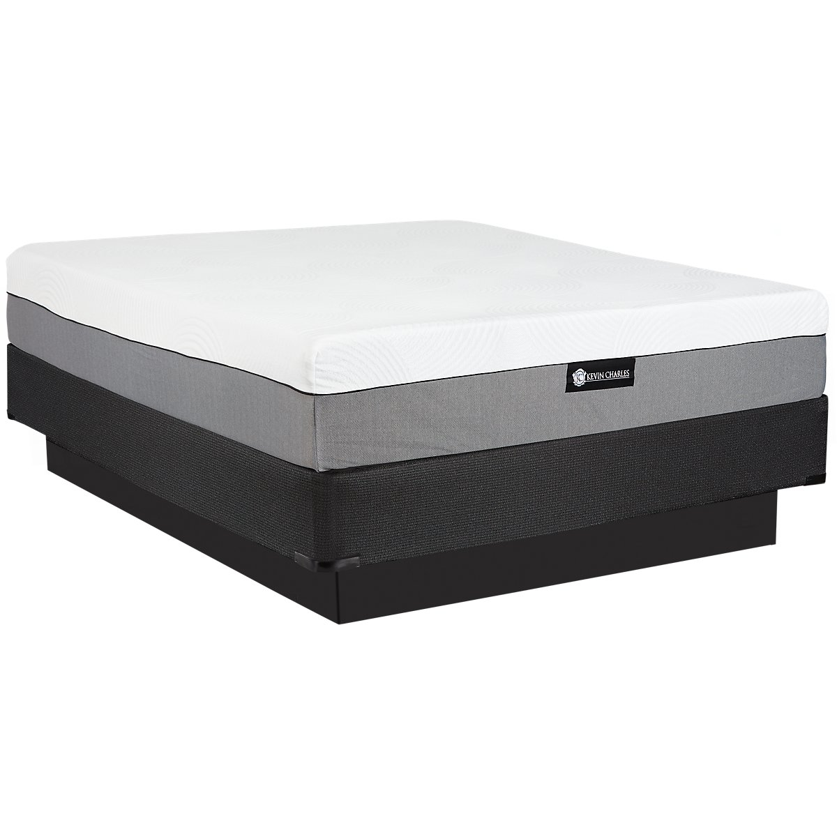 City furniture bliss plush memory foam mattress set Memory foam mattress set