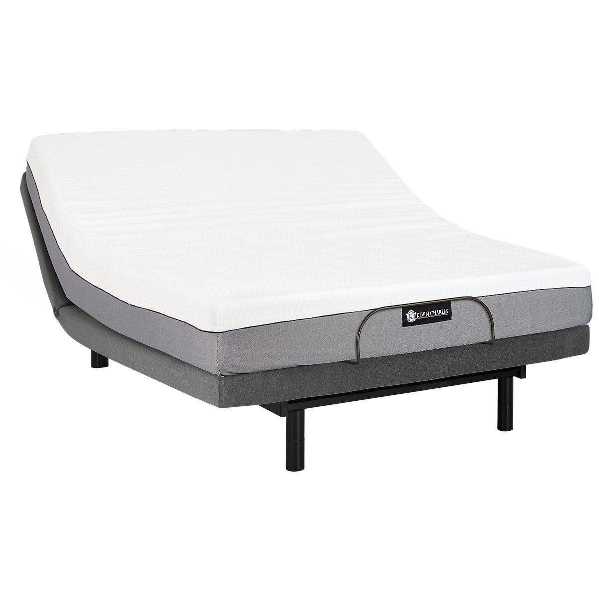 City furniture siesta cushion firm memory foam select adjustable mattress set Memory foam mattress set
