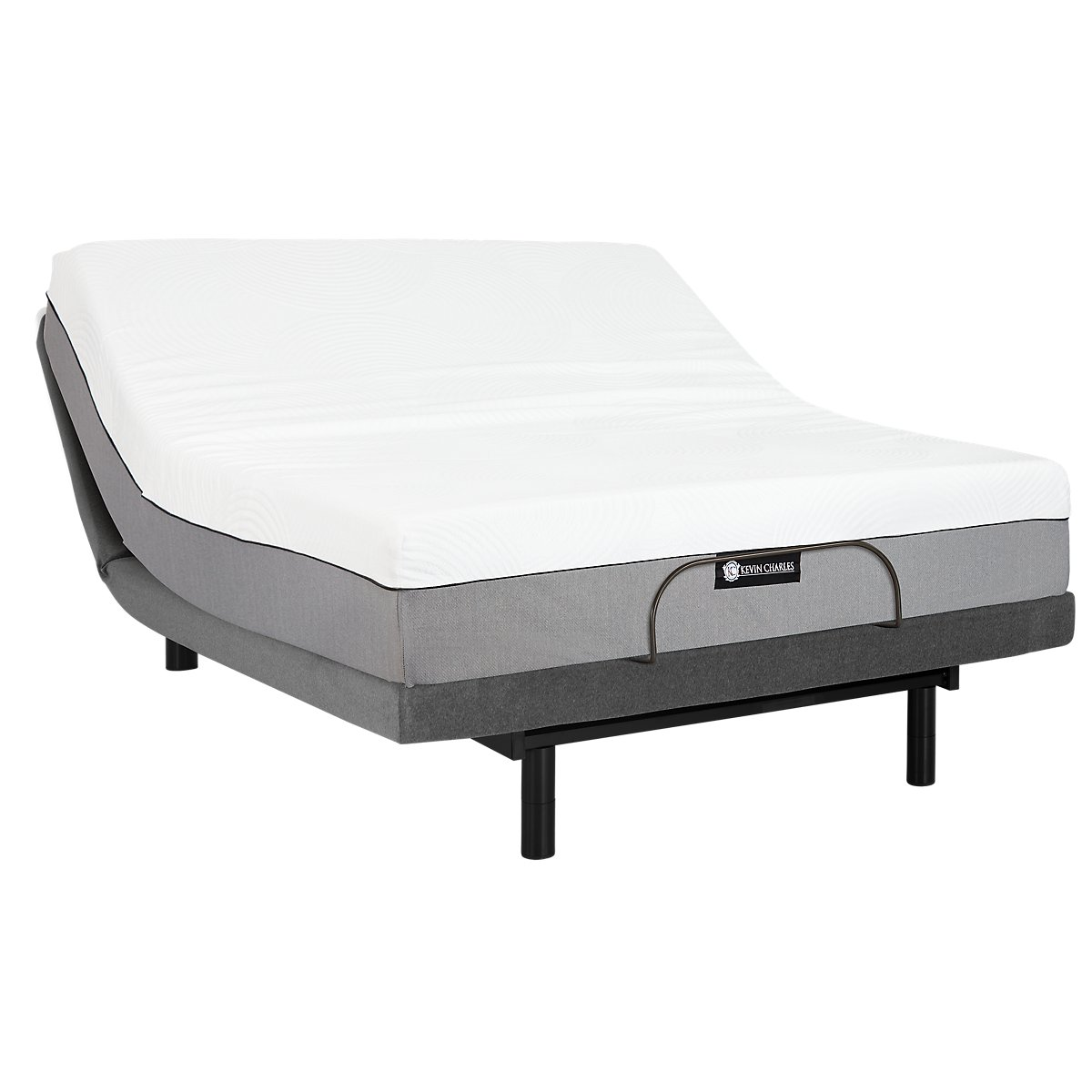 City furniture bliss plush memory foam select adjustable mattress set Memory foam mattress set
