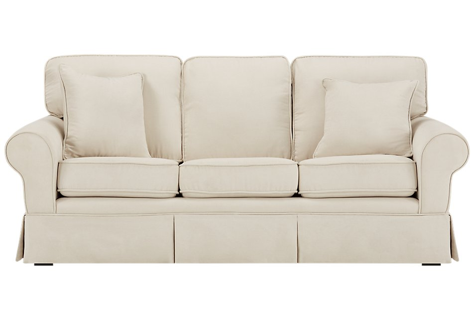 Reese White Medium Memory Foam Sleeper (1)