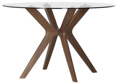 Fresno Glass Round Table
