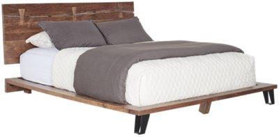 Delicieux Shiloh Mid Tone Platform Bed