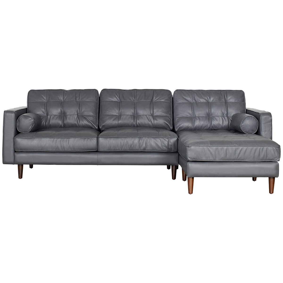 modena modern model furniture rigged leather obj left sofa max chaise models sectional rh arm chesterfield