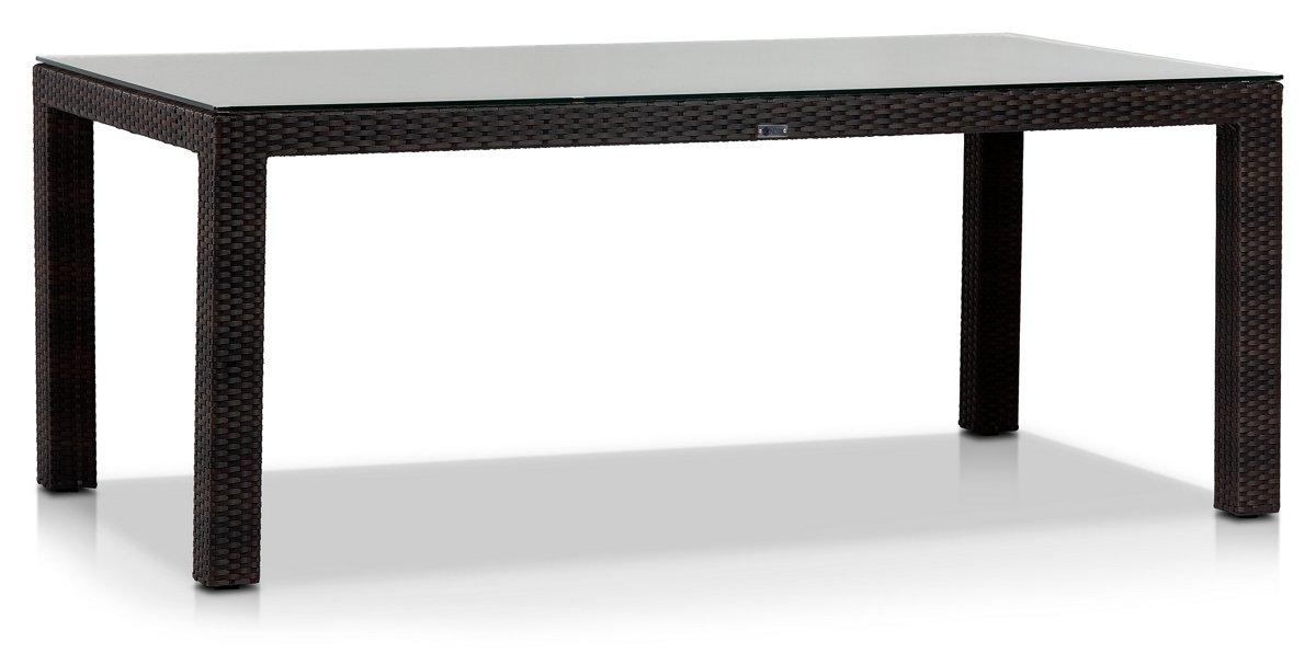 Zen Dark Tone Rectangular Table