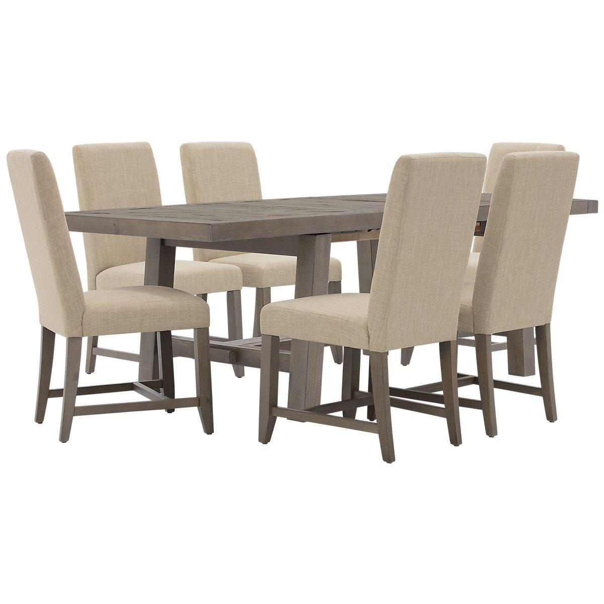 City Furniture: Taryn Gray Rectangular Table