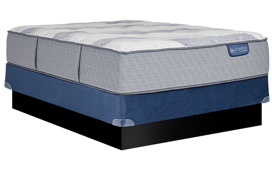 Wondrous Serta Icomfort Blue Fusion Xls 200 Plush Mattress Set Gmtry Best Dining Table And Chair Ideas Images Gmtryco