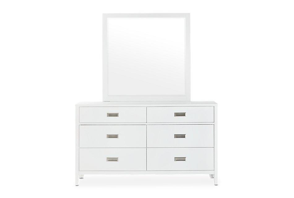 Chatham White  Dresser & Mirror