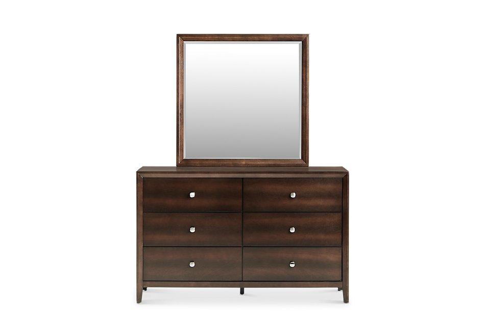 Jackson Dark Tone  Dresser & Mirror
