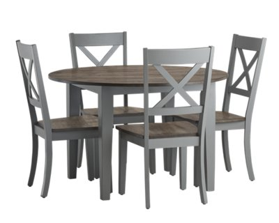 Sumter Gray Table U0026 4 Chairs ...