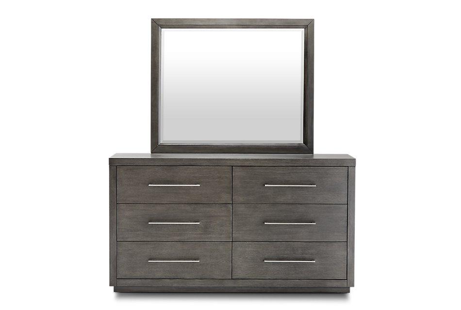 Toronto Dark Tone  Dresser & Mirror