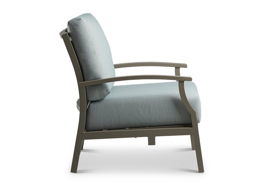 Raleigh Teal Rocking Chair