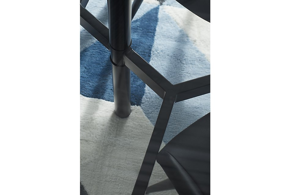 Prime Lemans Black Glass Table 4 Upholstered Chairs Dining Pdpeps Interior Chair Design Pdpepsorg