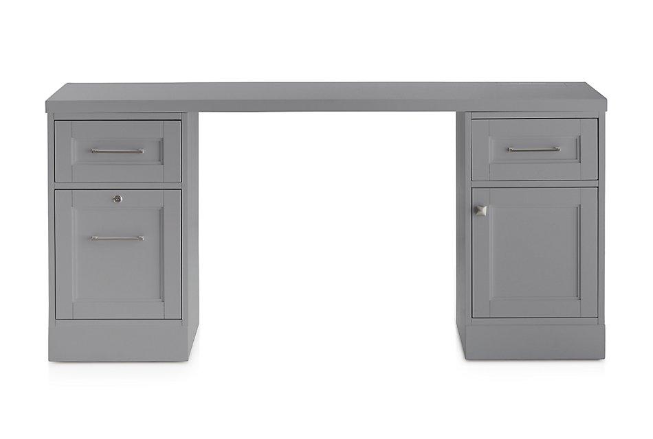 Newport Gray  Writing Desk
