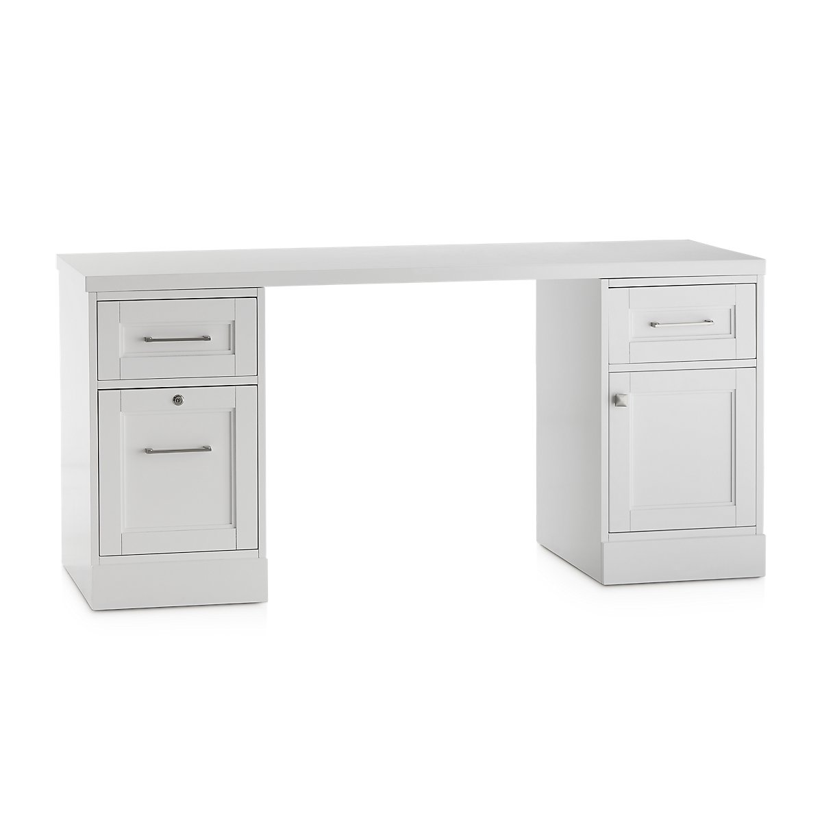 newport white writing desk  home office  desks  city