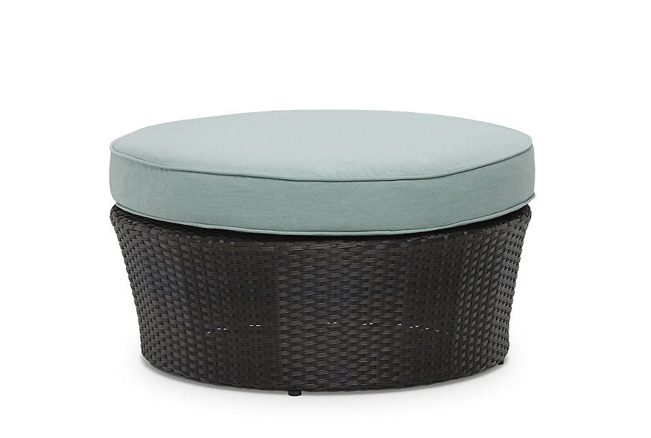 Fina Teal  Canopy Daybed