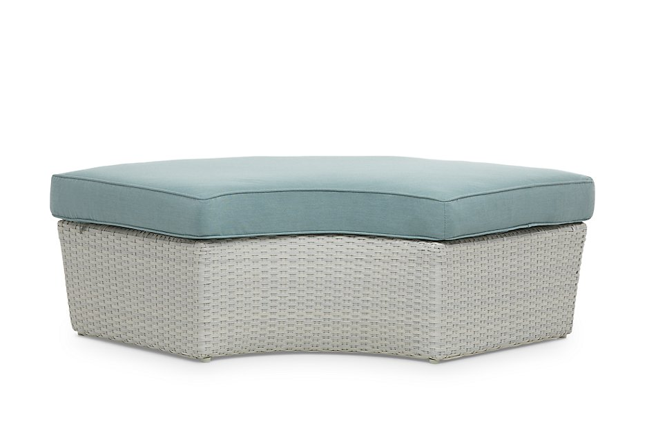 Biscayne Teal  Canopy Daybed