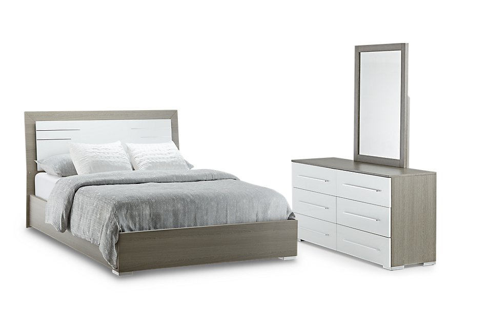Sofia Two-tone  Panel Panel Bedroom