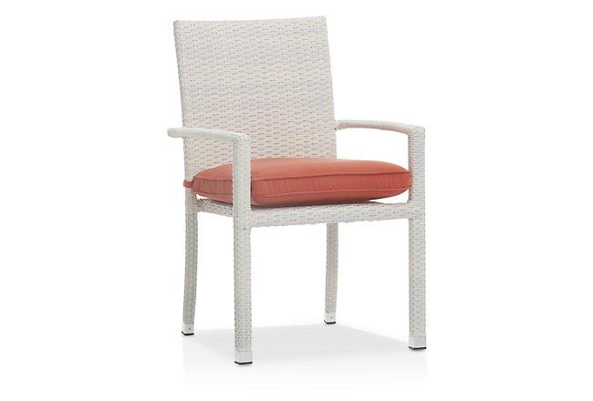 Bahia Orange Arm Chair